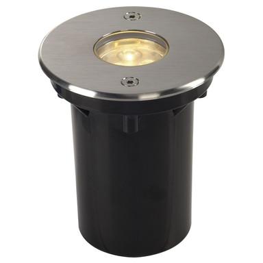 LED Bodeneinbaustrahler Dasar, IP67. rund