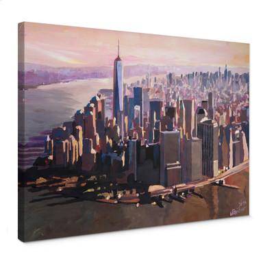 Leinwandbild Bleichner - Manhattan Freedom