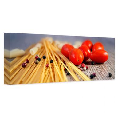Leinwandbild Spaghetti alla mamma
