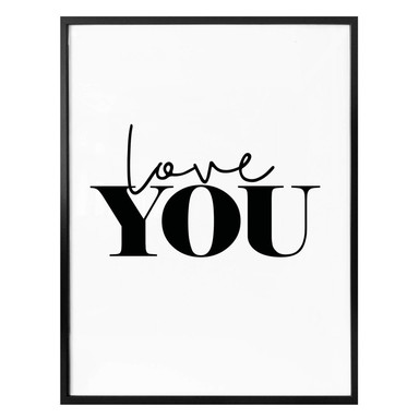 Poster Love You