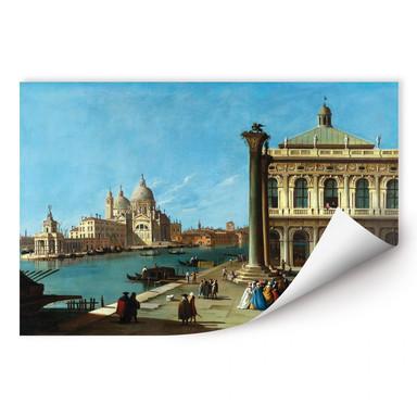 Wallprint Canaletto Die Einfahrt zum Canal Grande