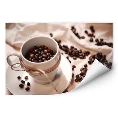 Wallprint Kaffee Zauber