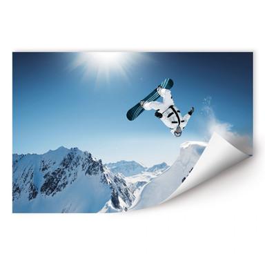 Wallprint Snowboarder
