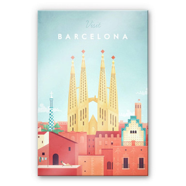 Acrylglasbild Rivers - Barcelona