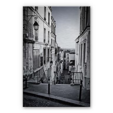 Alu Dibond Bild Montmartre