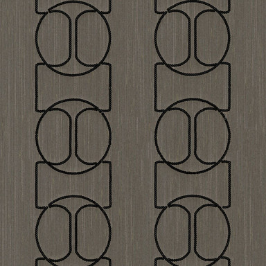 Architects Paper textiles Designpanel AP Wall Fashion braun, metallic - Bild 1