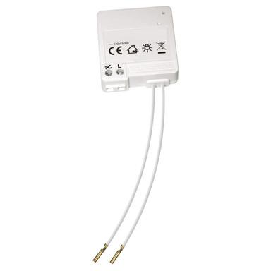 FunkdimmerModul für Schalterdoseneinbau, max. 250 Watt Halogen, LED/ESL max. 24 Watt
