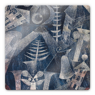 Glasbild Klee - Die Glocke