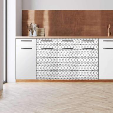 Küchenfolie - Unterschrank 120cm Breite - Mediana