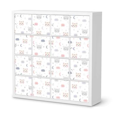 Möbelfolie IKEA Expedit Regal 16 Türen - Sweet Dreams