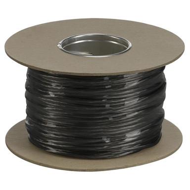 Tenseo Seilsystem, Niedervolt-Seil, 4 mm², schwarz, 100 m