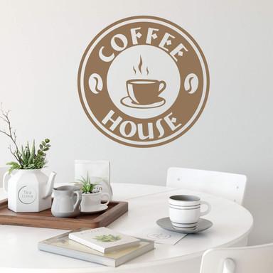 Wandtattoo Coffeehouse