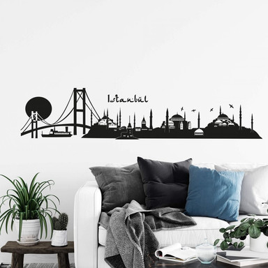 Wandtattoo Istanbul Skyline 2