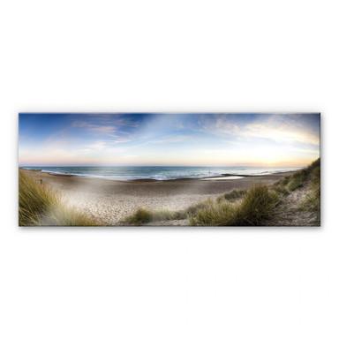 Acrylglasbild Strandpanorama