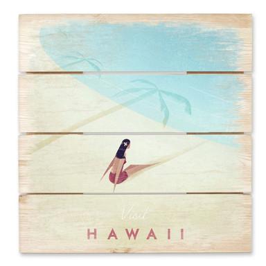 Holzbild Rivers - Hawaii