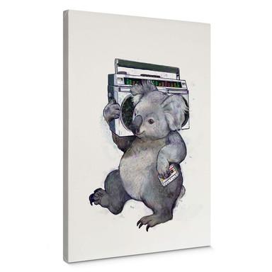 Leinwandbild Graves - Music Koala