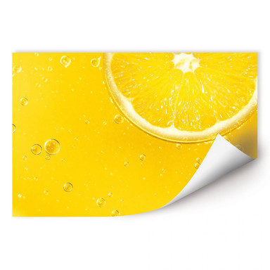 Wallprint Lemon Squeezy