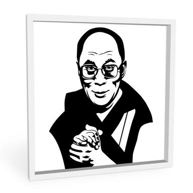 Wandbild Dalai Lama