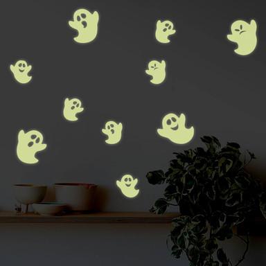 Leuchtsticker Geister