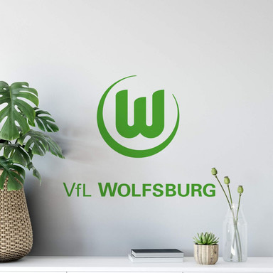 Wandsticker VfL Wolfsburg Logo 2