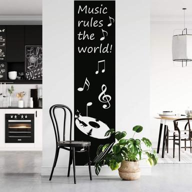 Wandtattoo Banner Music