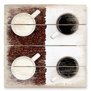Holzbild Lavsen - White Espresso
