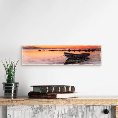 Holzschild Stille See