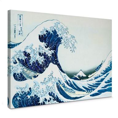 Leinwandbild Hokusai - Die grosse Welle von Kanagawa