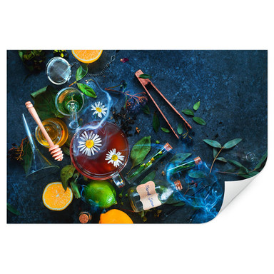 Wallprint Belenko - Chamomile and Tea