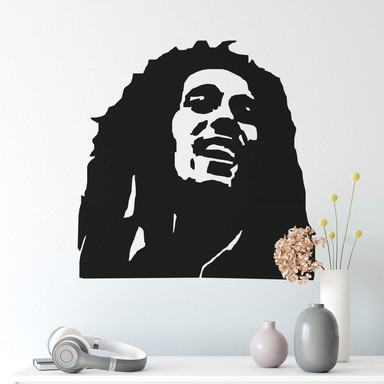 Wandtattoo Bob Marley 1