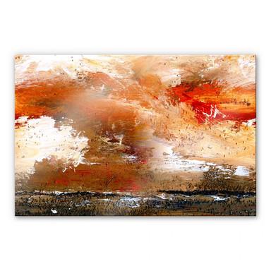 Acrylglasbild Niksic - Schrei des Windes