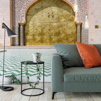 Fototapete Colombo - Alawi Moschee im Oman