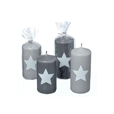 Kerze Sternchen