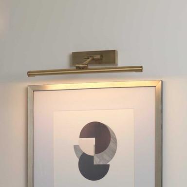 LED Bilderleuchte Goya in Messing 7.1W 821lm 460mm