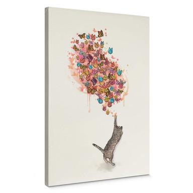 Leinwandbild Graves - Catching Butterflies