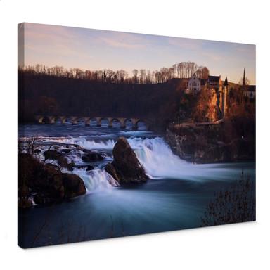 Leinwandbild Rheinfall