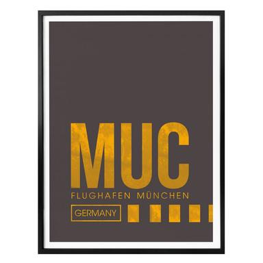 Poster 08Left - MUC Flughafen München
