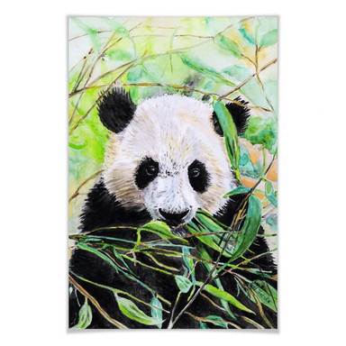 Poster Toetzke - Pandabär