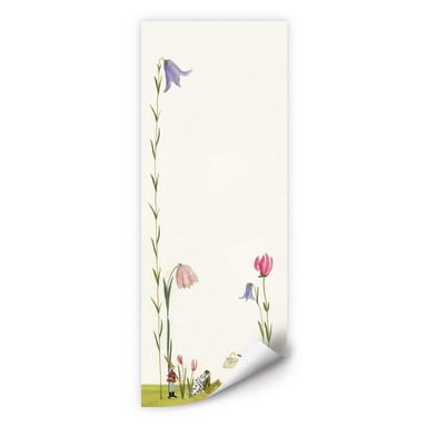 Wallprint Leffler - Blütenschnecke