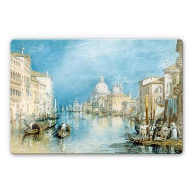 Glasbild Turner - Venedig, Canale Grande