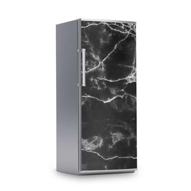 Kühlschrankfolie 60x150cm - Marmor schwarz- Bild 1