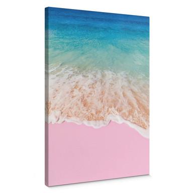 Leinwandbild Fuentes – Pink Sand