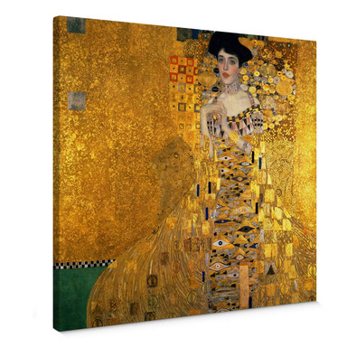 Leinwandbild Klimt - Bildnis der Adele Bloch-Bauer