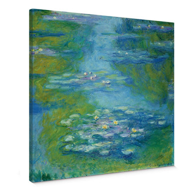 Leinwandbild Monet - Seerosen 1907