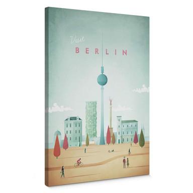 Leinwandbild Rivers - Berlin