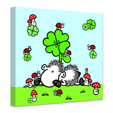 Leinwandbild sheepworld Glücksschaf