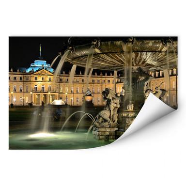 Wallprint Stuttgarter Schlossbrunnen
