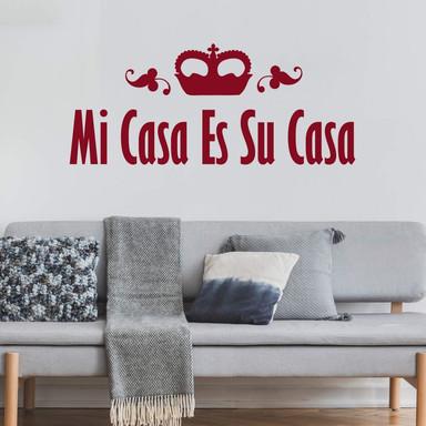 Wandtattoo Mi Casa Es Su Casa 2