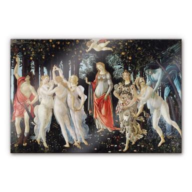 Acrylglasbild Botticelli - Der Frühling
