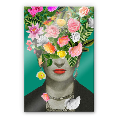 Acrylglasbild Feldmann - Frida Floral